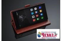 Фирменный чехол-книжка из качественной импортной кожи с подставкой застёжкой и визитницей для Lenovo Vibe Shot Z90/Z90-3/Z90-7/Z90-A40/Z90A40 LTE 5.0 белый