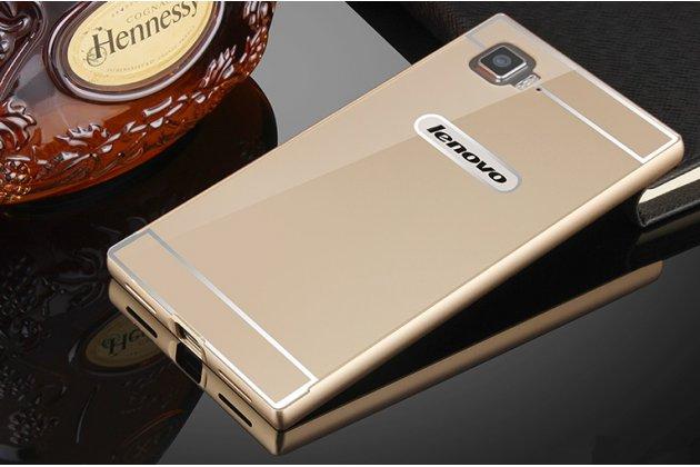 """Фирменная металлическая задняя панель-крышка-накладка из тончайшего облегченного авиационного алюминия для Lenovo Vibe Z2 mini K920 5.5"""" золотая"""