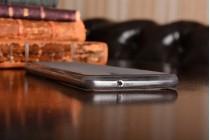 Фирменная ультра-тонкая полимерная из мягкого качественного силикона задняя панель-чехол-накладка для Lenovo ZUK Z2 Pro 5.2 серая