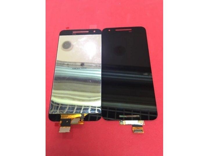 Фирменный LCD-ЖК-сенсорный дисплей-экран-стекло с тачскрином на телефон LG Google Nexus 5X черный + гарантия..