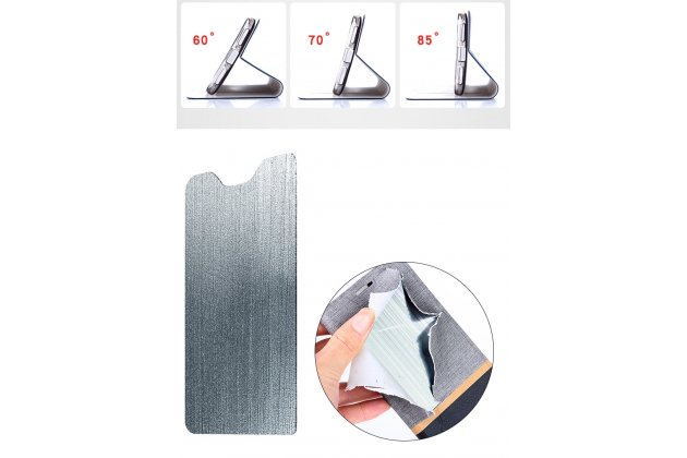 Фирменный чехол-обложка с подставкой для LG G6 mini / LG Q6 / LG Q6 Plus / LG Q6a M700 розовый кожаный