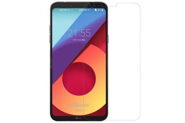 Фирменная оригинальная защитная пленка для телефона LG G6 mini / LG Q6 / LG Q6 Plus / LG Q6a M700 глянцевая