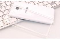 Фирменная ультра-тонкая полимерная из мягкого качественного силикона задняя панель-чехол-накладка для Meizu M3E (A680H) 5.5 прозрачная