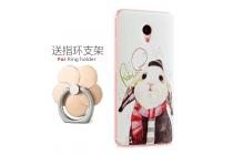 Фирменная роскошная задняя панель-чехол-накладка с безумно красивым расписным рисунком на Meizu M3E (A680H) 5.5