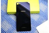 Родная оригинальная задняя крышка-панель которая шла в комплекте для Meizu M3X/Meilan X 5.5/Meizu X 5.5(M862Q) чёрная