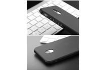 Фирменная ультра-тонкая полимерная из мягкого качественного силикона задняя панель-чехол-накладка для Meizu M5 (M611A) 5.2 черная