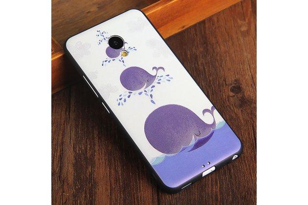 Фирменная роскошная задняя панель-чехол-накладка с безумно красивым расписным рисунком на Meizu M5 (M611A) 5.2