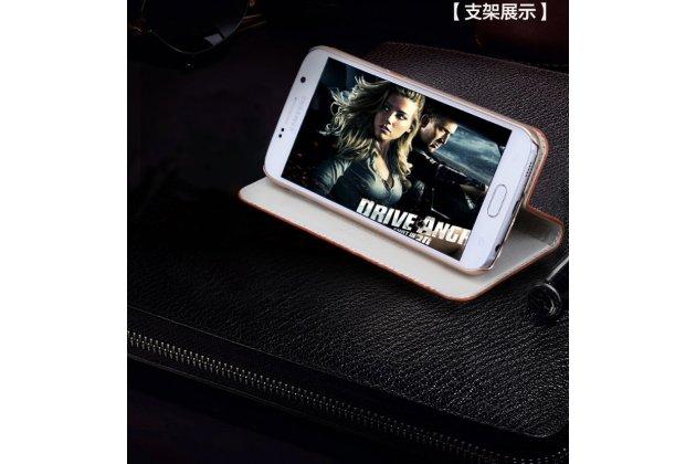 Фирменный роскошный эксклюзивный чехол с объёмным 3D изображением кожи крокодила синий для Meizu M5 (M611A) 5.2 . Только в нашем магазине. Количество ограничено