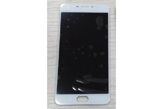 Фирменный LCD-ЖК-сенсорный дисплей-экран-стекло с тачскрином на телефон Meizu M5 Note белый + гарантия
