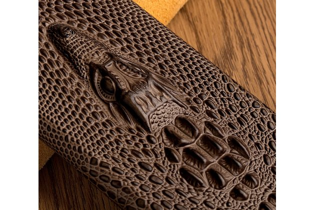 Фирменная роскошная эксклюзивная накладка с объёмным 3D изображением рельефа кожи крокодила синяя для Meizu M5 Note. Только в нашем магазине. Количество ограничено