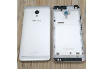 Родная оригинальная задняя крышка-панель которая шла в комплекте для Meizu M5 Note серебристая