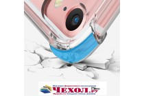 Фирменная ультра-тонкая полимерная из мягкого качественного силикона задняя панель-чехол-накладка для Meizu Pro 7 прозрачная
