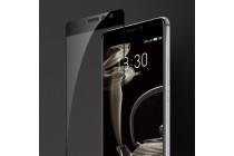 Фирменная оригинальная 3D защитная пленка с закругленными краями которое полностью закрывает экран для телефона Meizu Pro 7 глянцевая