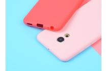 Фирменная ультра-тонкая полимерная из мягкого качественного силикона задняя панель-чехол-накладка для Meizu Pro 6 Plus красная