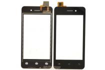 Фирменное сенсорное-стекло-тачскрин на Micromax Q301 черный + инструменты для вскрытия + гарантия