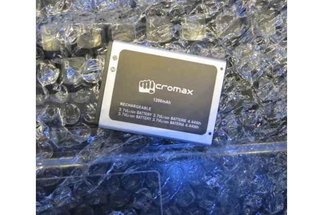 Фирменная аккумуляторная батарея 1200mAh на телефон Micromax S300 Bolt + инструменты для вскрытия + гарантия