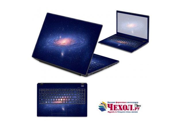 Фирменная оригинальная защитная пленка-наклейка с 3d рисунком на твёрдой основе, которая не увеличивает ноутбук в размерах для Microsoft Surface Book 13.5 тематика Космос