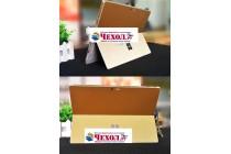 Фирменная оригинальная защитная пленка-наклейка-стикер с 3d рисунком на твёрдой основе, которая не увеличивает ноутбук в размерах для Microsoft Surface Book 13.5 золотая