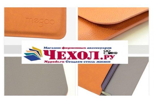 Фирменный оригинальный чехол-клатч-сумка для Microsoft Surface Book 13.5 из качественной импортной кожи коричневый