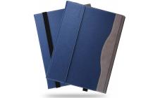 Фирменный оригинальный чехол с логотипом для Microsoft Surface Book 13.5 синий