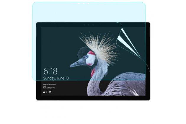 Фирменная оригинальная защитная пленка для планшета Microsoft Surface Pro 5 глянцевая