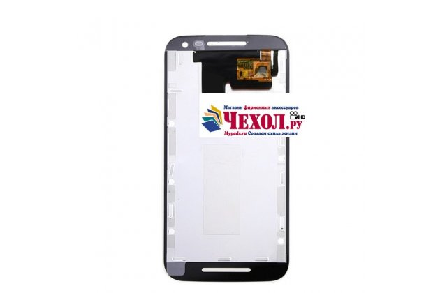 Фирменный LCD-ЖК-сенсорный дисплей-экран-стекло в сборе с тачскрином на телефон Motorola Moto G4 черный + гарантия