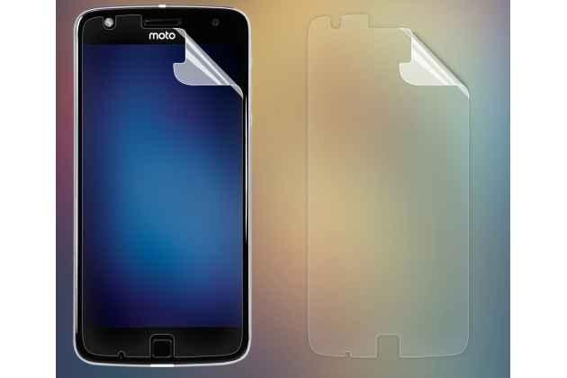Фирменная оригинальная защитная пленка для телефона Moto Х Play (XT1635-03) 5.5 / Motorola Moto Z Play (XT1635-03-02) 5.5 глянцевая