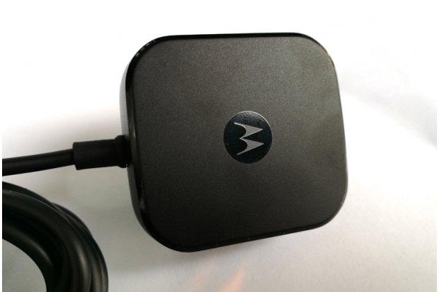 Фирменное оригинальное зарядное устройство от сети для телефона Moto Х Play (XT1635-03) 5.5 / Motorola Moto Z Play (XT1635-03-02) 5.5 + гарантия