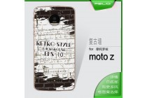 Фирменная роскошная задняя панель-чехол-накладка из мягкого силикона с объемным  3D изображением  на Motorola Moto Z c  безумно красивым рисунком Тематика Уличный Стиль