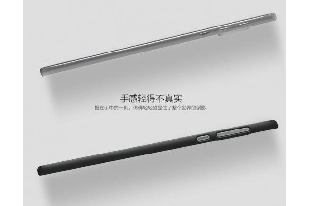 Фирменная задняя панель-крышка-накладка из тончайшего и прочного пластика для Motorola Moto Z черная