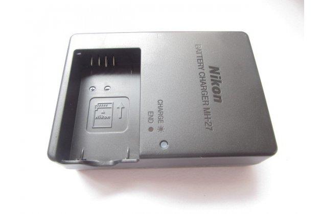 Фирменное зарядное устройство от сети MH-27 для аккумуляторных батарей EN-EL20 фотоаппарата Nikon 1 AW1/J1/J2/J3/S1/V3 + гарантия