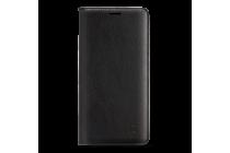 """Фирменный тонкий чехол-книжка из качественной импортной кожи с мульти-подставкой и логотипом для OnePlus 3T A3010/ OnePlus 3 A3000 / A3003"""" черный"""