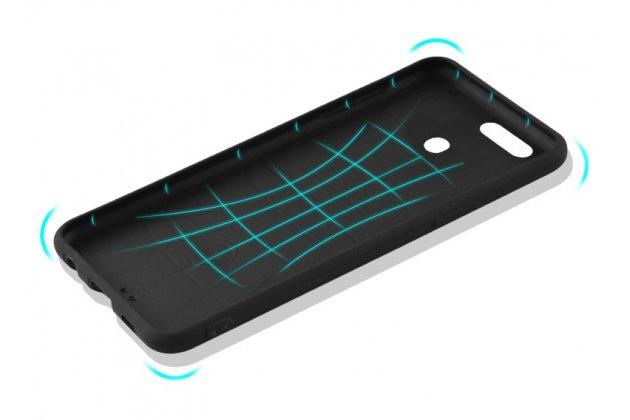 """Фирменная уникальная задняя панель-крышка-накладка из тончайшего силикона для Oppo R11s Plus с рисунком тематика """"Волк"""""""
