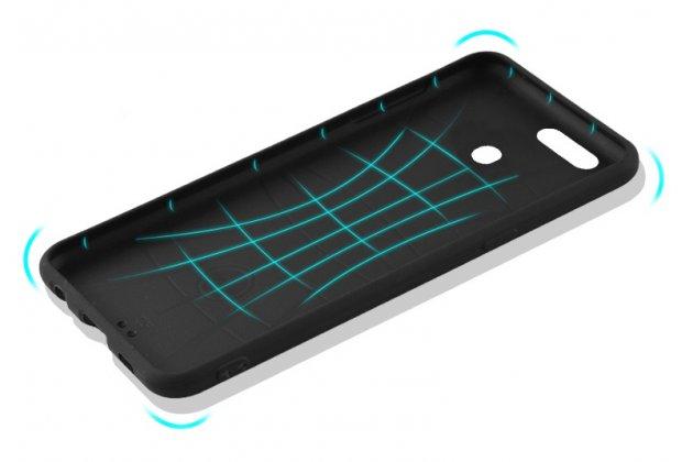 """Фирменная уникальная задняя панель-крышка-накладка из тончайшего силикона для Oppo R11s с рисунком """"Звездное небо"""""""