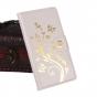 Фирменный чехол-книжка с рисунком на тему канделябры на Oukitel K10000  белый..