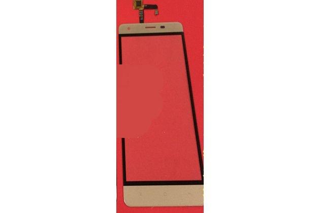 Фирменное сенсорное-стекло-тачскрин на OUKITEL K6000 Pro золотой + инструменты для вскрытия + гарантия