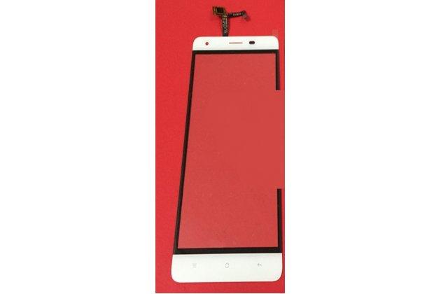 Фирменное сенсорное-стекло-тачскрин на OUKITEL K6000 Pro белый + инструменты для вскрытия + гарантия