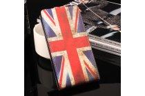 Фирменный вертикальный откидной чехол-флип для Oukitel K7000 тематика ретро Британский флаг