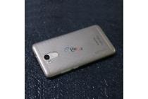 Фирменная задняя панель-крышка-накладка из тончайшего и прочного пластика для OUKITEL U15 Pro 5.5 дюймов серая