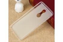 Фирменная ультра-тонкая полимерная из мягкого качественного силикона задняя панель-чехол-накладка для Philips X586 белая