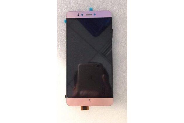 Фирменный LCD-ЖК-сенсорный дисплей-экран-стекло с тачскрином на телефон Prestigio Muze D3 5.3 Золотой + гарантия