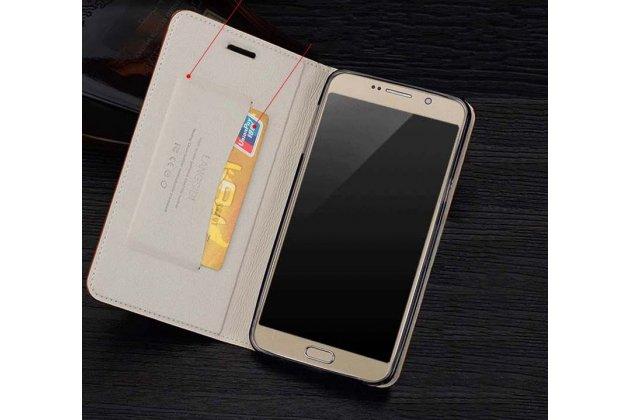 Фирменный роскошный эксклюзивный чехол с объёмным 3D изображением кожи крокодила белый для Samsung Galaxy A5 2016/ A5+ / A510 / A5100 5.2. Только в нашем магазине. Количество ограничено