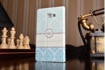 """Фирменный уникальный необычный чехол-подставка для Samsung Galaxy A5 SM-A520F (2017)  """"тематика Корона в винтажном стиле"""""""