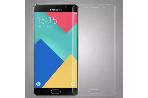 Фирменная оригинальная защитная пленка для телефона Samsung Galaxy A9 Pro SM-A910F/DS 6.0 глянцевая