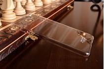 Фирменная задняя панель-крышка-накладка из тончайшего и прочного пластика для Samsung Galaxy A9 Pro SM-A910F/DS 6.0 прозрачная