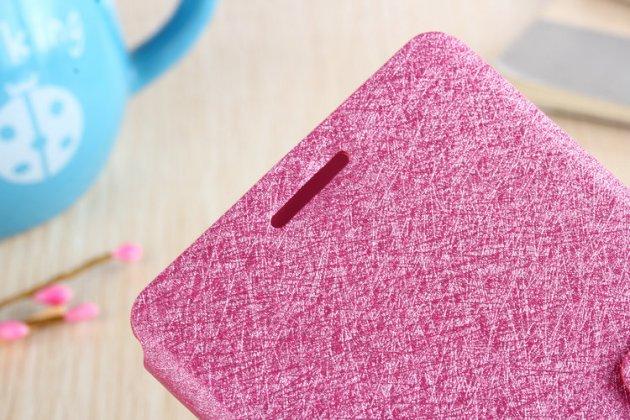 Фирменный роскошный чехол-книжка безумно красивый декорированный бусинками и кристаликами на Samsung Galaxy C5 Pro / Galaxy C5 2017 (SM-C5010) розовый