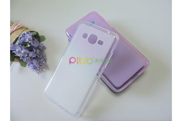 Фирменная ультра-тонкая полимерная из мягкого качественного силикона задняя панель-чехол-накладка для Samsung Galaxy J2 Prime (2016)/Grand Prime Plus SM-G532F белая
