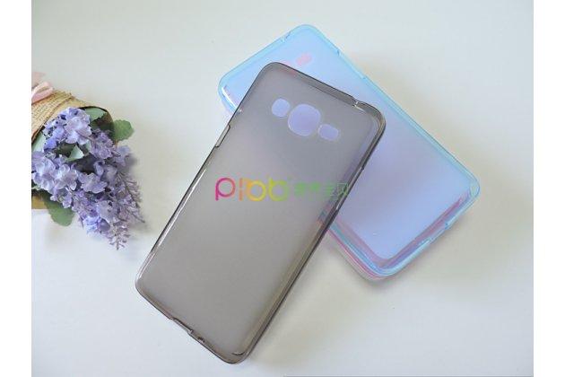 Фирменная ультра-тонкая полимерная из мягкого качественного силикона задняя панель-чехол-накладка для Samsung Galaxy J2 Prime (2016)/Grand Prime Plus SM-G532F черная