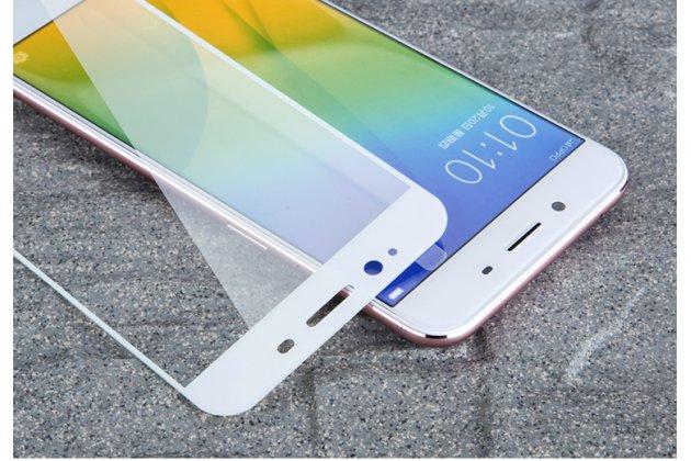 Фирменное 3D защитное изогнутое стекло с закругленными изогнутыми краями которое полностью закрывает экран / дисплей по краям с олеофобным покрытием для Samsung Galaxy J3 (2016) SM-J320F/DS/J320H/DS