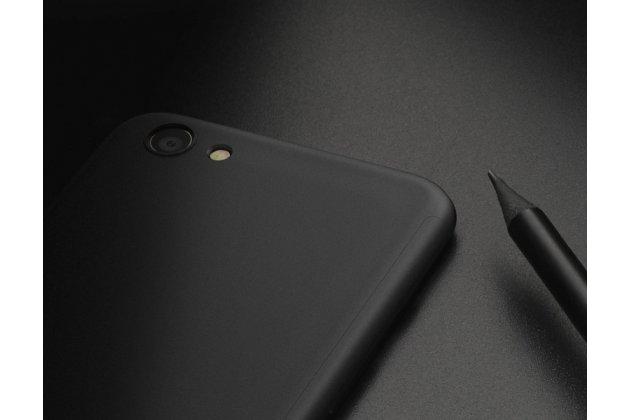 Фирменный чехол-бокс-корпус-панель в комплекте с задней и передней крышкой из тончайшего и прочного пластика для Samsung Galaxy J3 (2016) SM-J320F/DS/J320H/DS черная